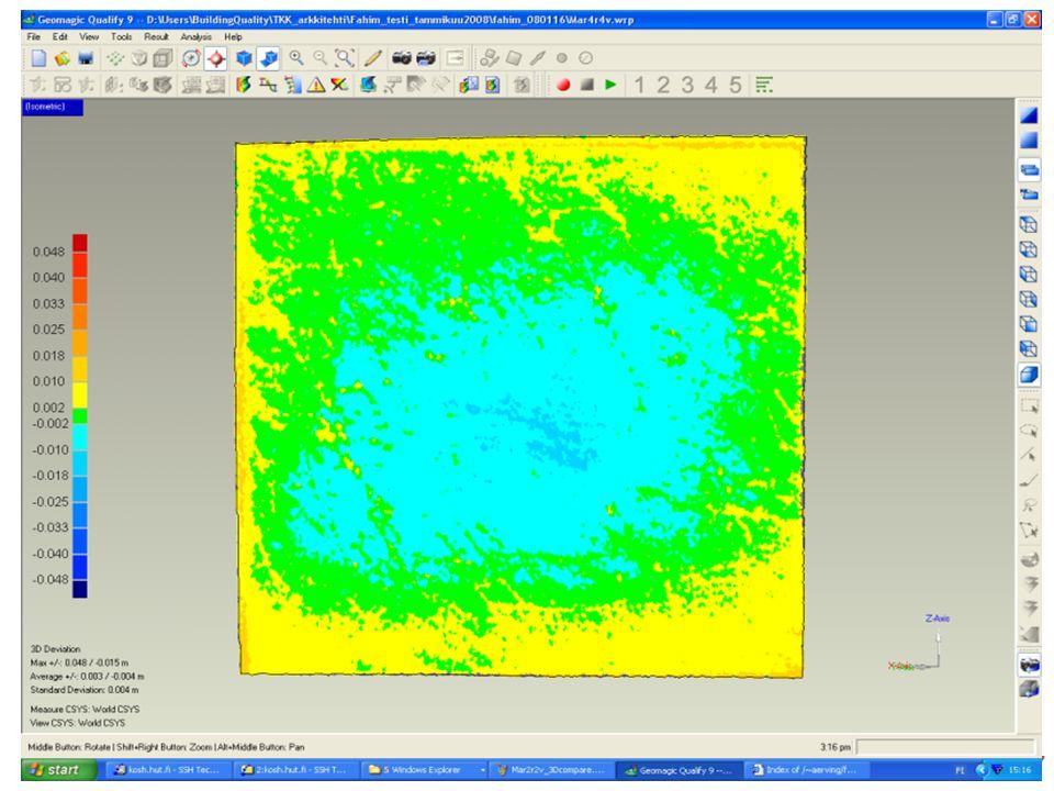 KITARA- Rakentamisen laadun parantaminen 3D-mittaustekniikan avulla Building Quality