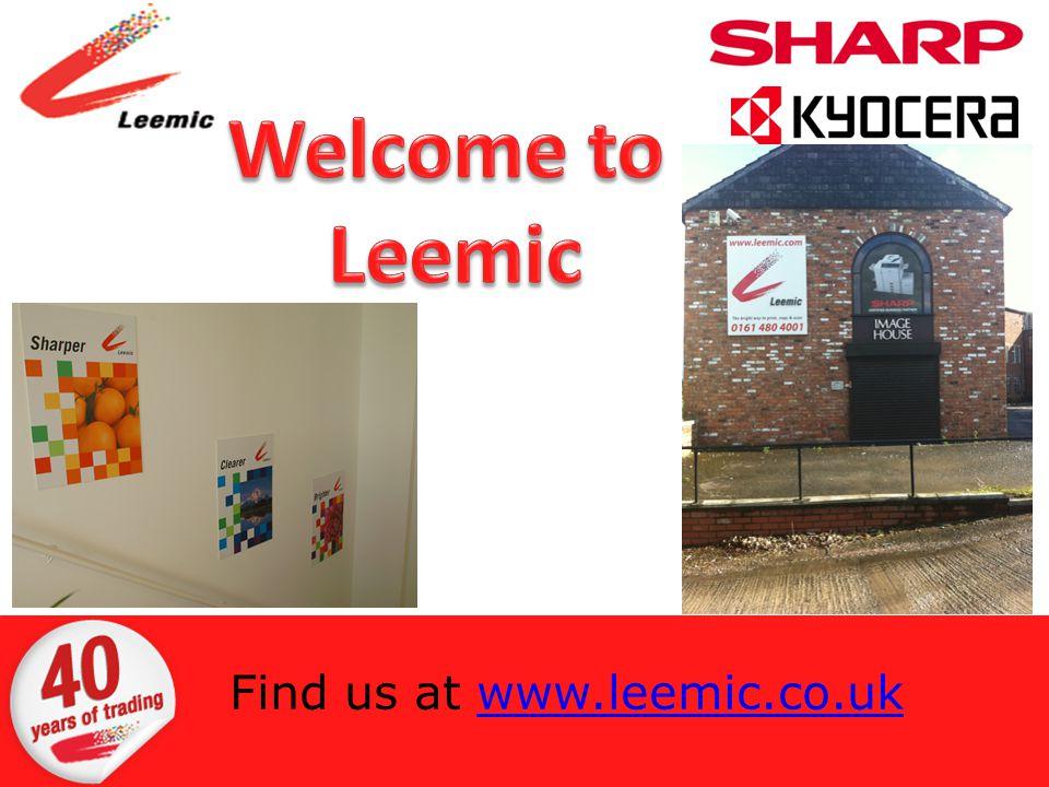 Find us at www.leemic.co.ukwww.leemic.co.uk