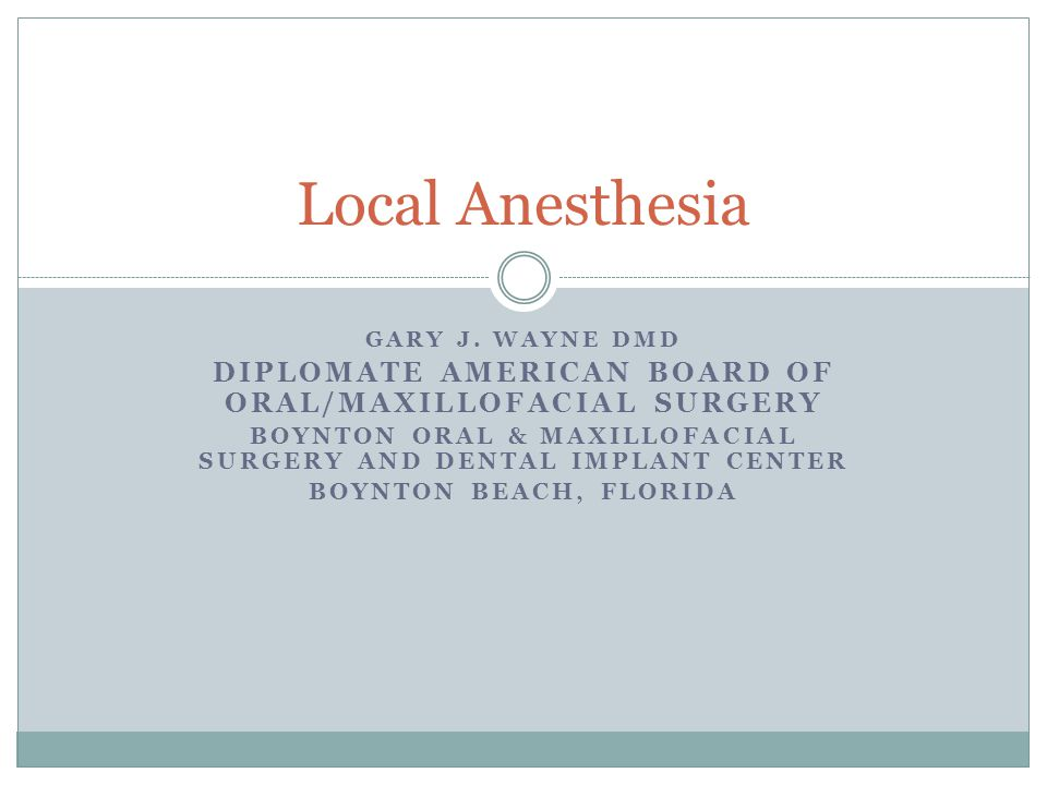 HOW DO LOCAL ANESTHETICS WORK.WHAT ARE THE IMPLICATIONS IN MY CHOICE OF ANESTHETICS.