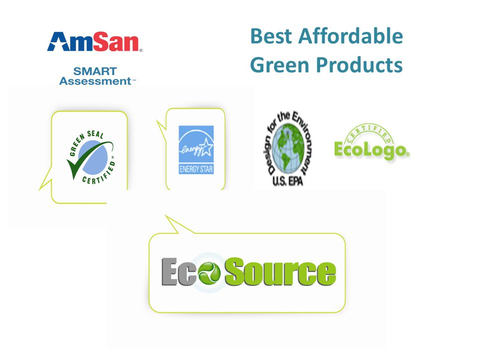 Best Affordable Green Products