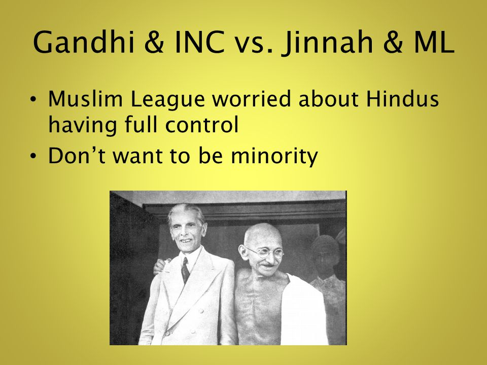 Gandhi & INC vs.