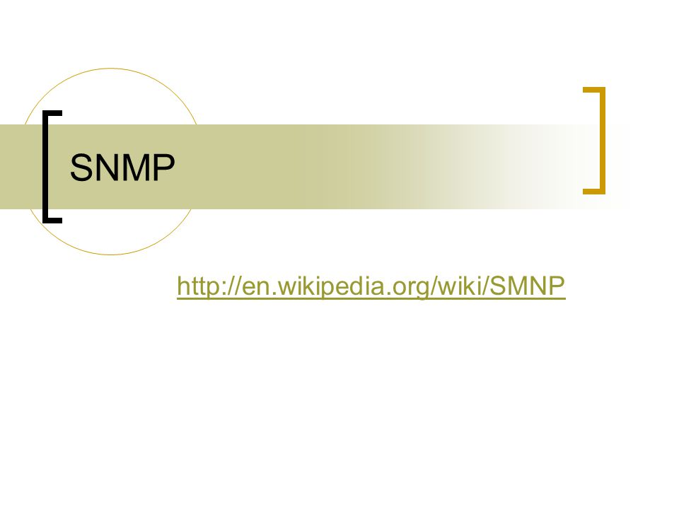 SNMP http://en.wikipedia.org/wiki/SMNP