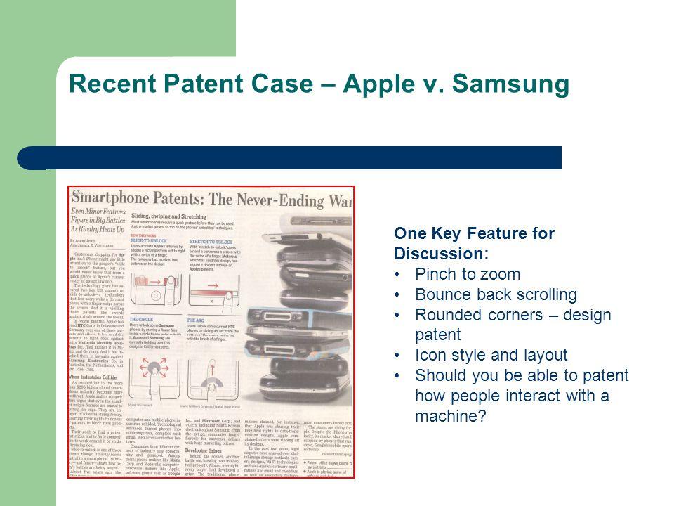 Recent Patent Case – Apple v.