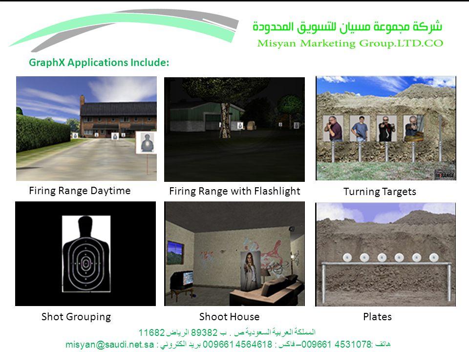 المملكة العربية السعودية ص. ب 89382 الرياض 11682 هاتف: 4531078 009661– فاكس : 4564618 009661 بريد الكتروني : misyan@saudi.net.sa GraphX Applications I