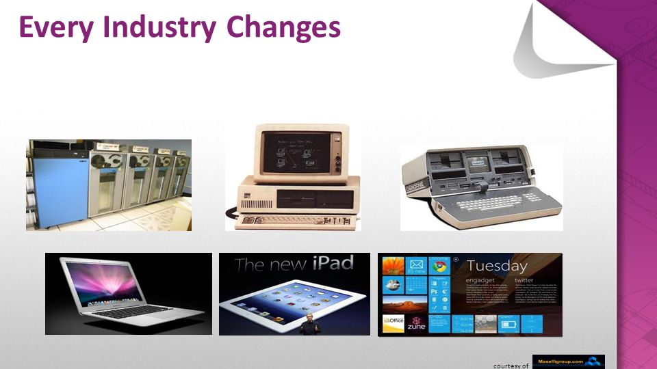 Every Industry Changes courtesy of