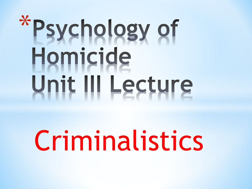 Definition of Terms * Forensic science is the application of science to the criminal and civil laws that are enforced by police agencies in a criminal justice system.