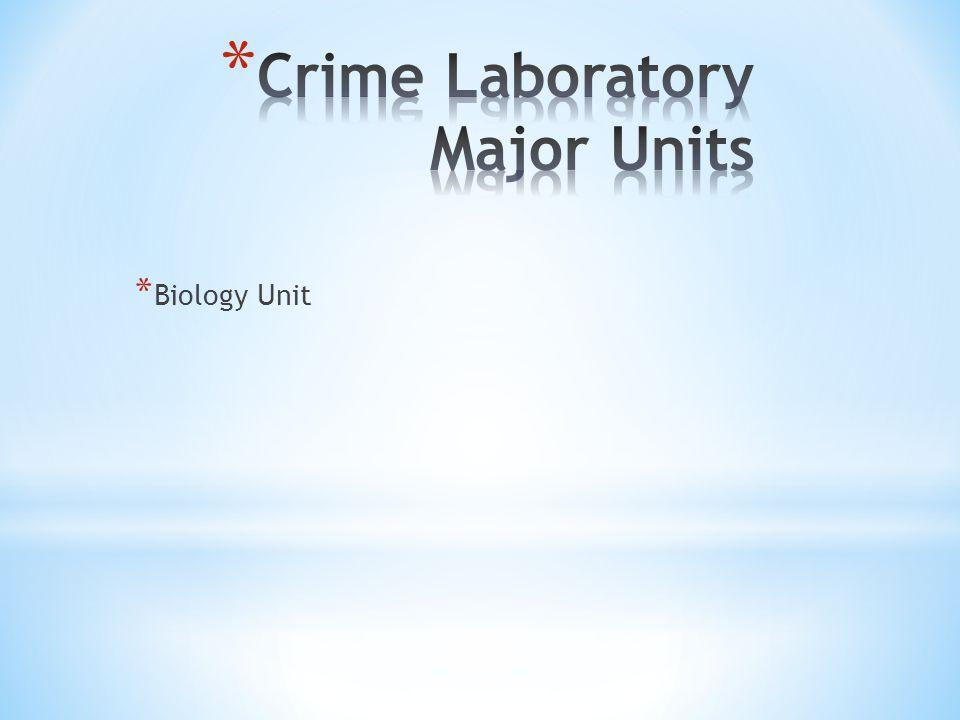* Biology Unit