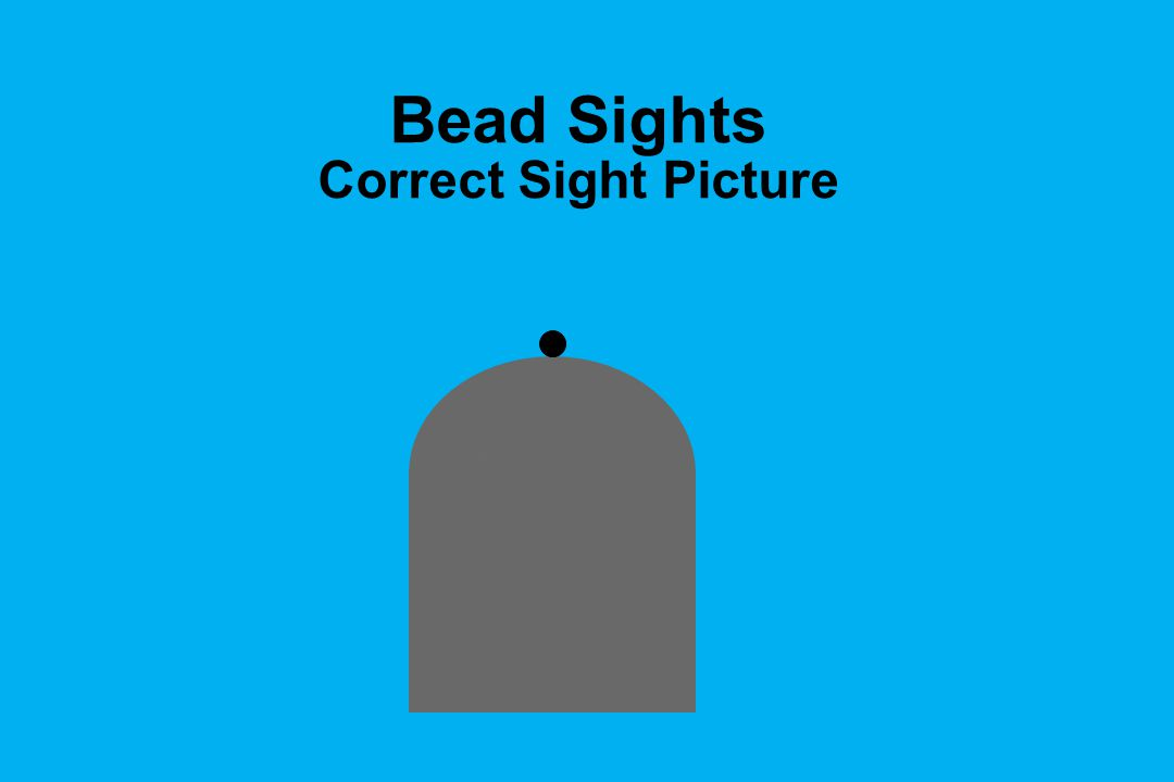 Bead Sights Correct Sight Picture