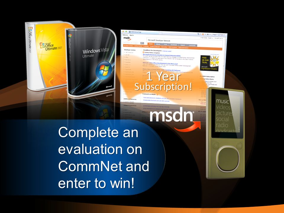 Complete an evaluation on CommNet and enter to win! 1 Year Subscription!