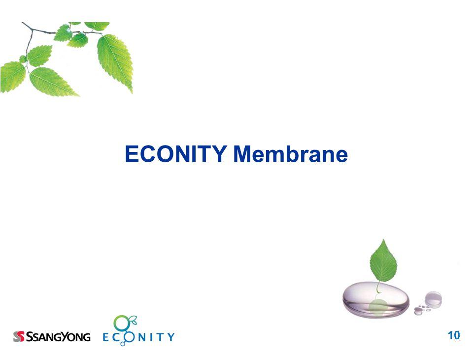 10 ECONITY Membrane