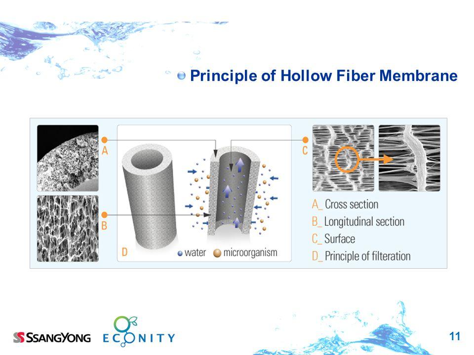 11 Principle of Hollow Fiber Membrane