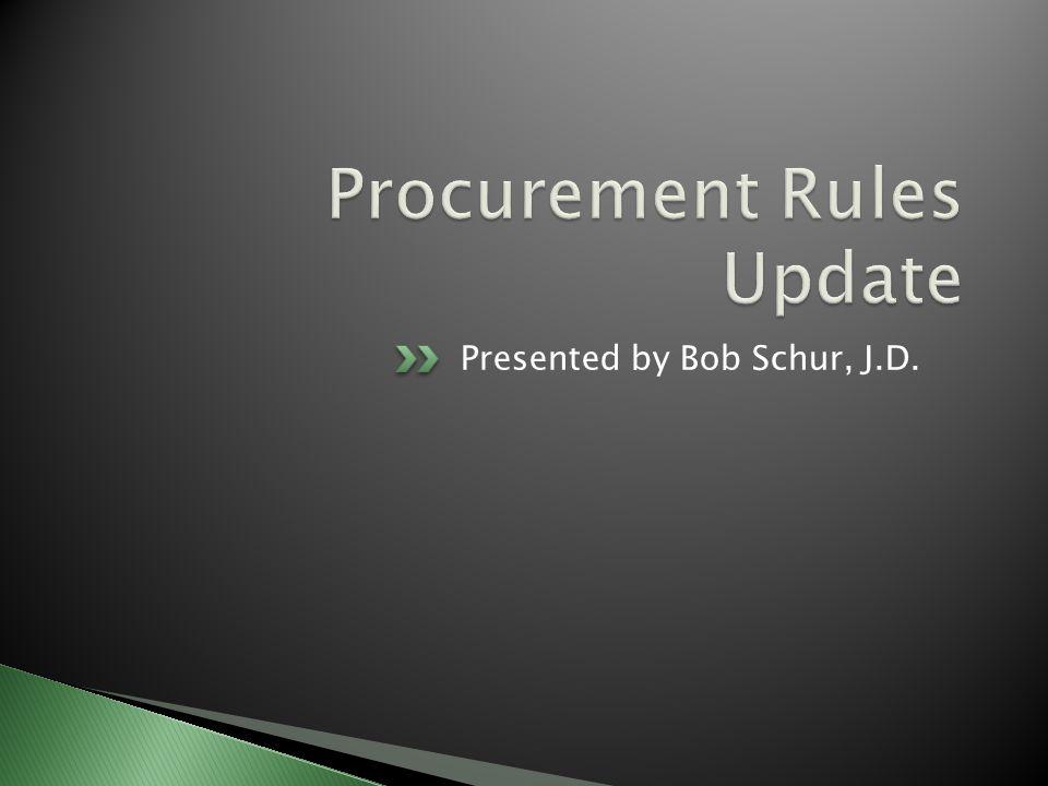 Presented by Bob Schur, J.D.