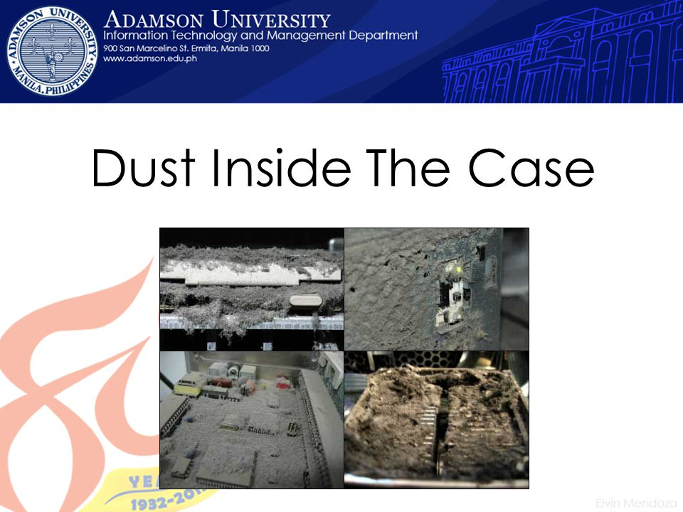 Dust Inside The Case