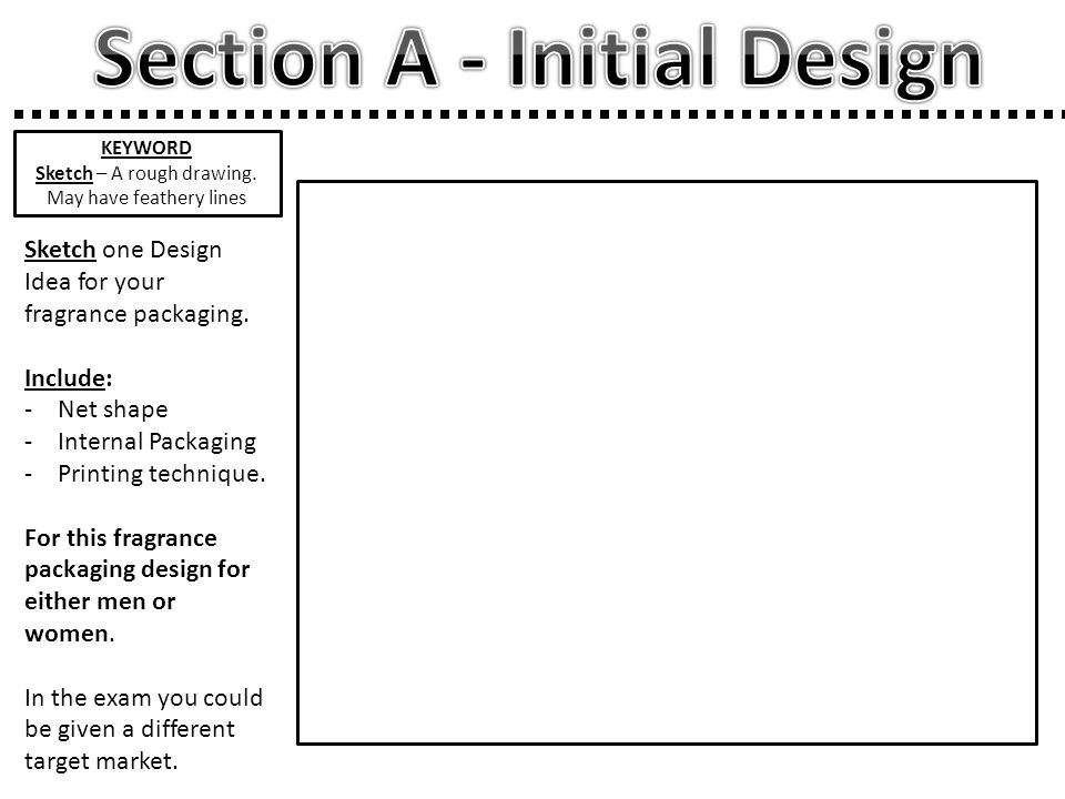 Draw your Final Design.