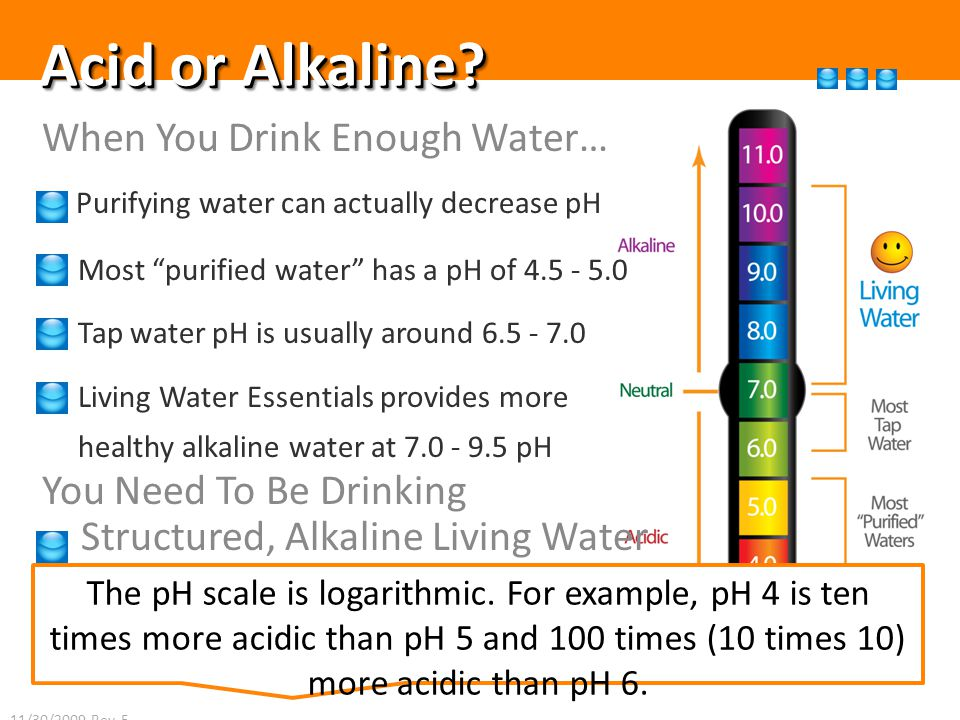 Acid or Alkaline.