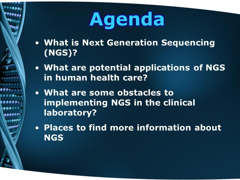 What is Next Generation Sequencing (NGS).