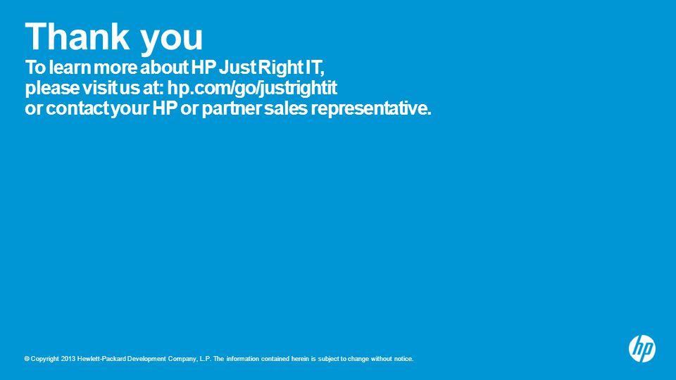 © Copyright 2013 Hewlett-Packard Development Company, L.P.