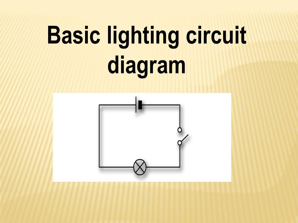 Basic lighting circuit diagram