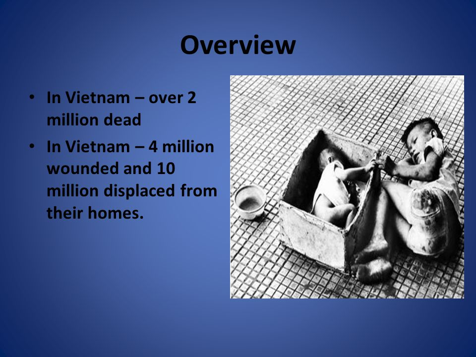Public Opinion Two out of three Americans judge the Vietnam war to have been a mistake.
