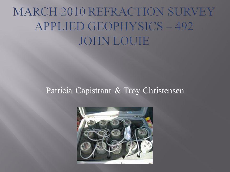 Patricia Capistrant & Troy Christensen