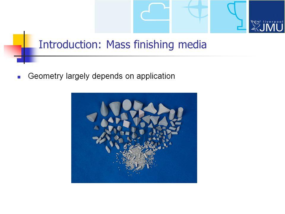 Introduction: Mass finishing media