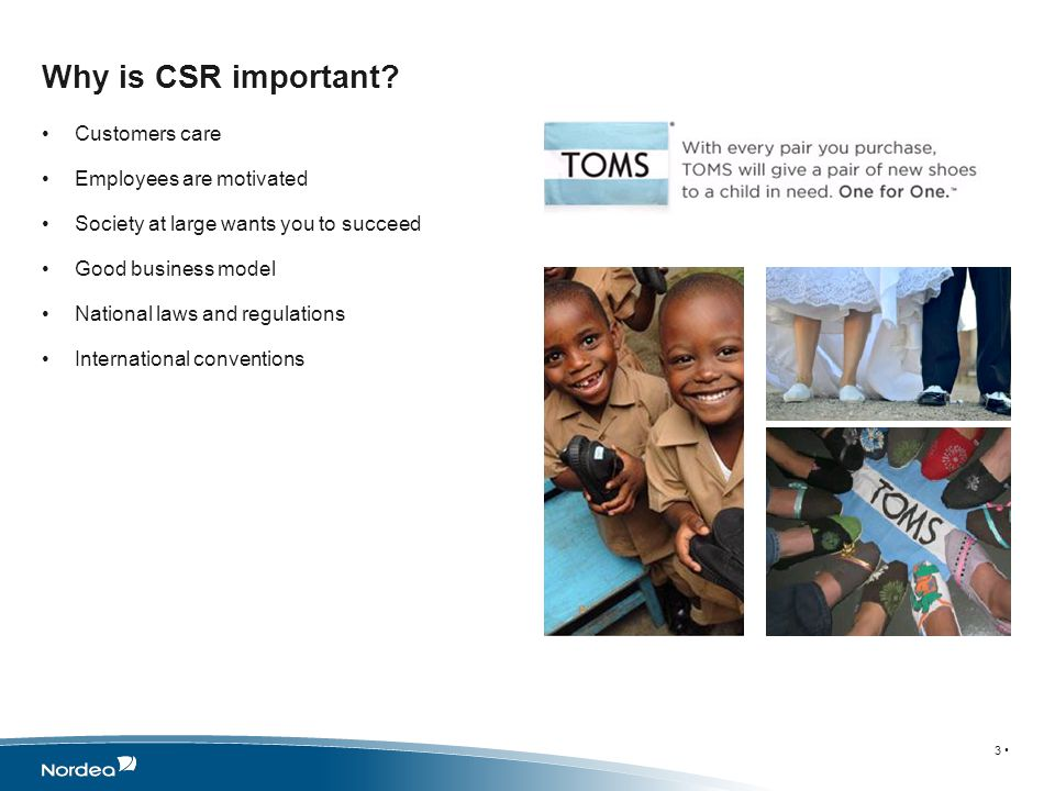What is Corporate Social Responsibility in Nordea.