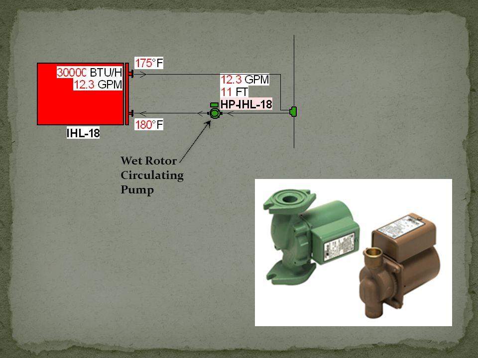 Wet Rotor Circulating Pump