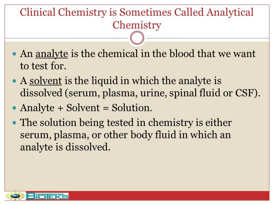 Reagents used in Clinical Chemistry Do you want a footer .