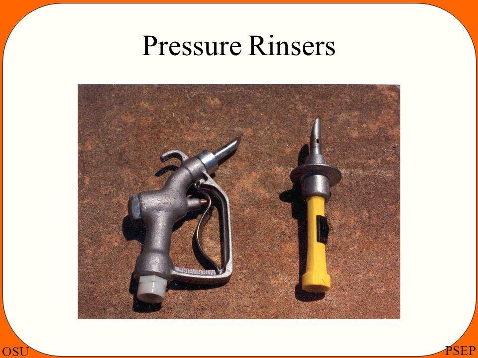 OSU PSEP Pressure Rinsers