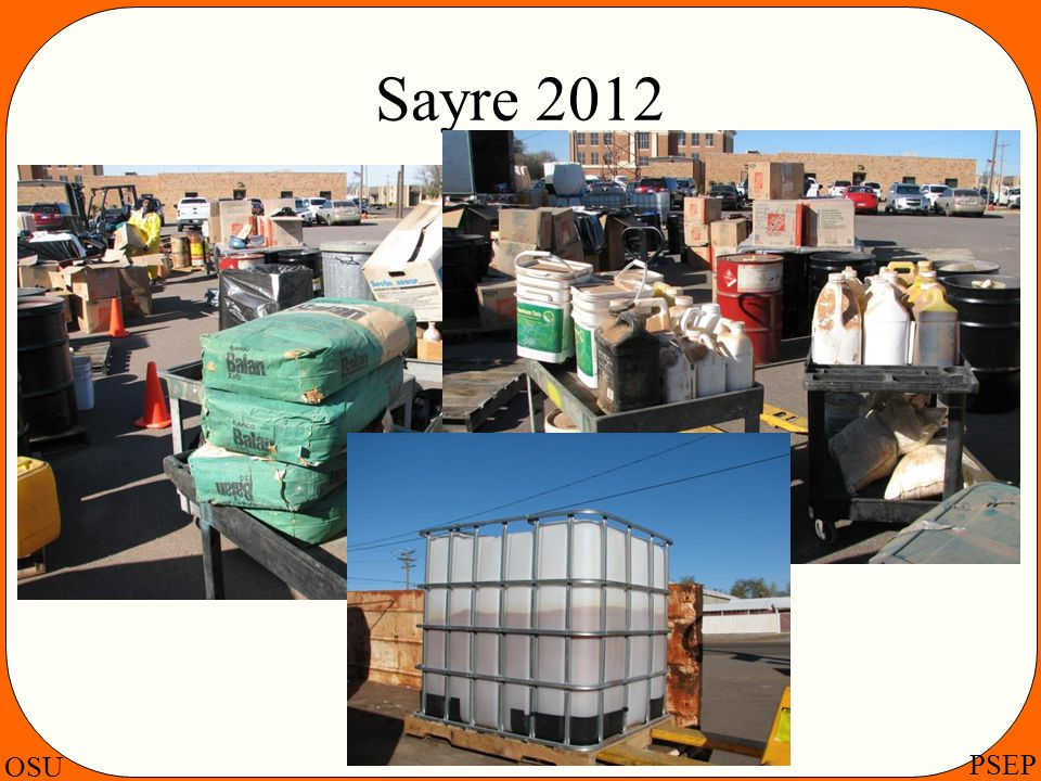 OSU PSEP Sayre 2012