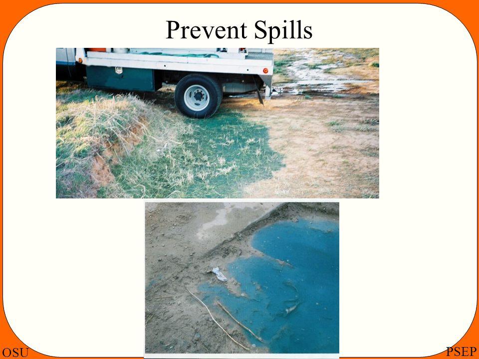 OSU PSEP Prevent Spills