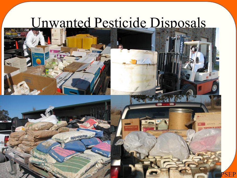 OSU PSEP Unwanted Pesticide Disposals Pesticide Disposal Pictures