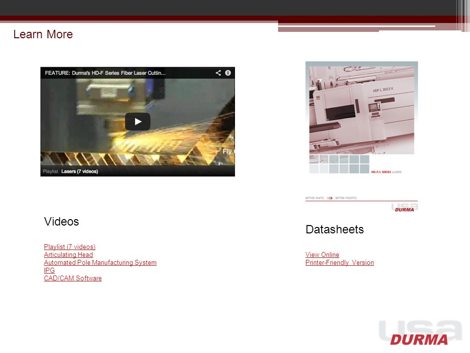 Learn More Videos Playlist (7 videos) Articulating Head Automated Pole Manufacturing System IPG CAD/CAM Software Datasheets View Online Printer-Friend