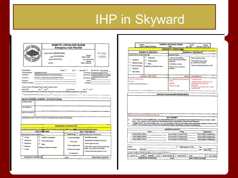 IHP in Skyward
