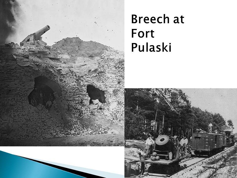 Breech at Fort Pulaski