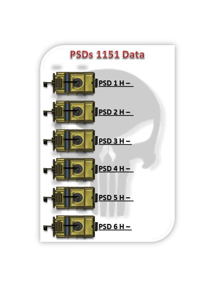 PSD 5 H – PSD 6 H – PSD 4 H – PSD 2 H – PSD 3 H – PSD 1 H –