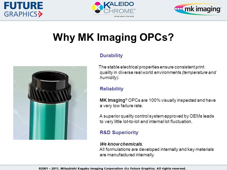 Why MK Imaging OPCs.