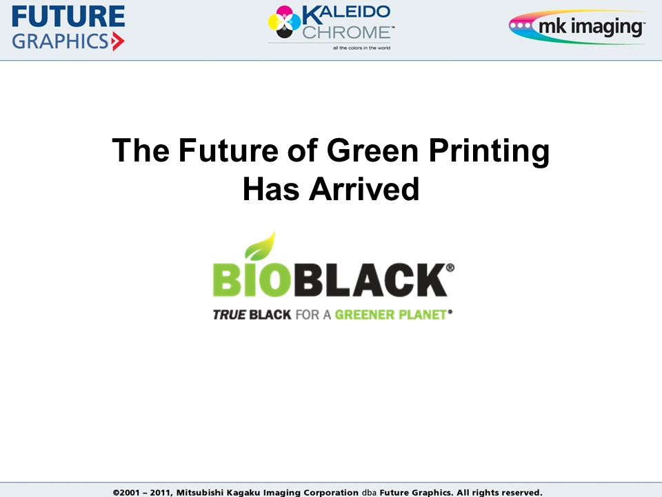 The Future of Green Printing Has Arrived