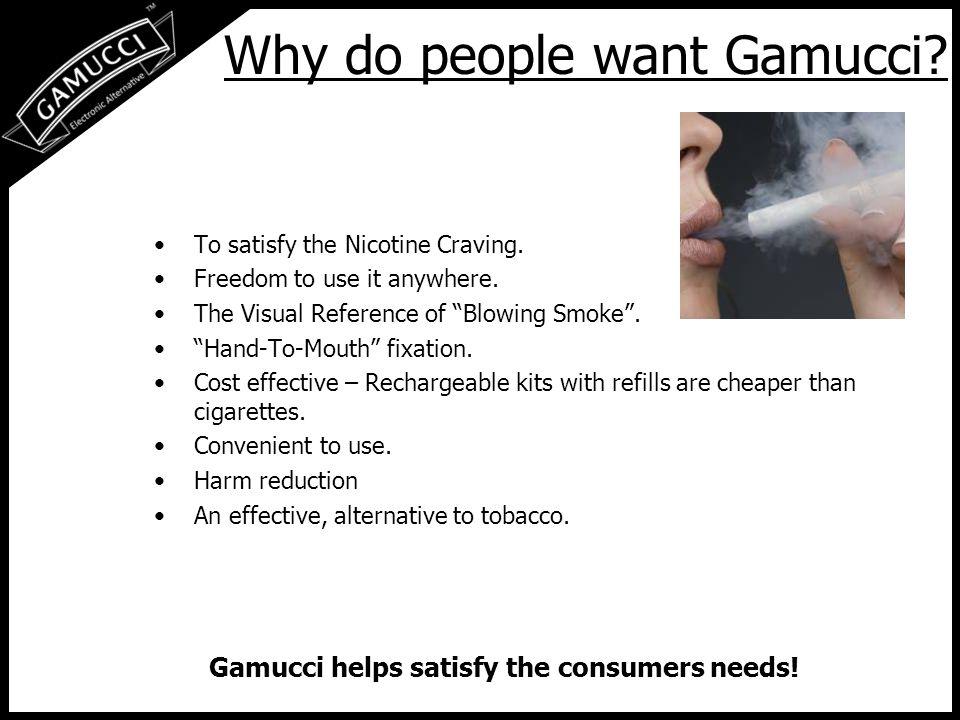 Why Gamucci.