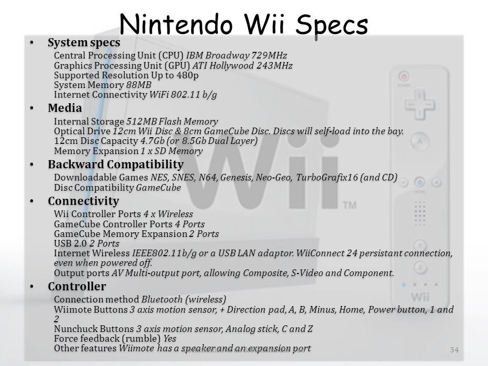 Nintendo Wii First six weeks of sales volume in Japan: – PS3: 310K, Xbox360: 110K,Wii: 1130K Why is it successful.