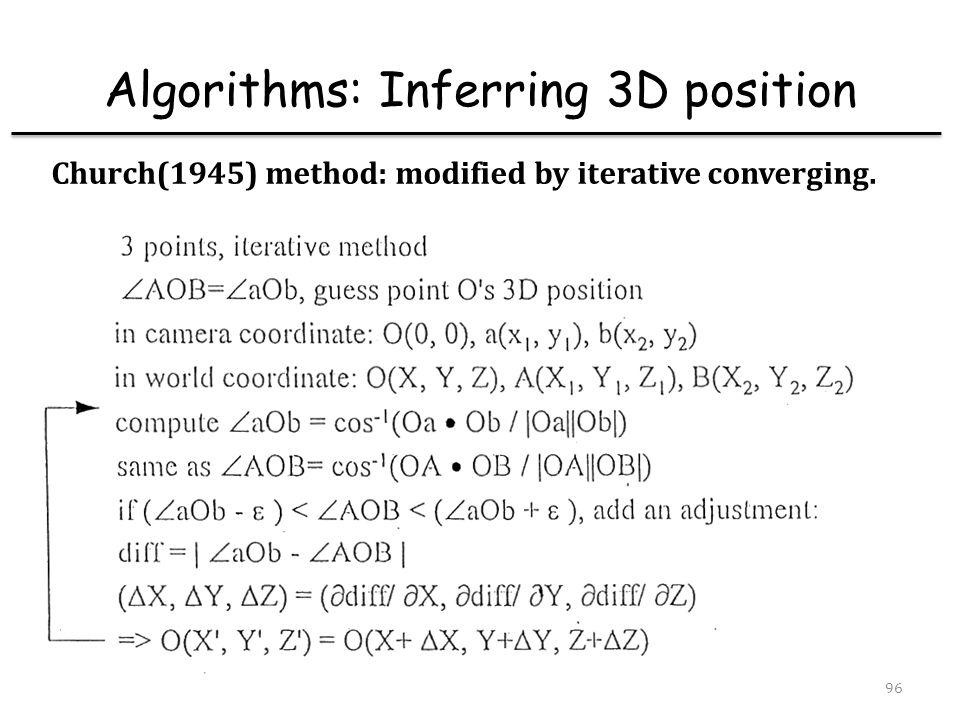 Communications & Multimedia Lab97 Algorithms: System errors