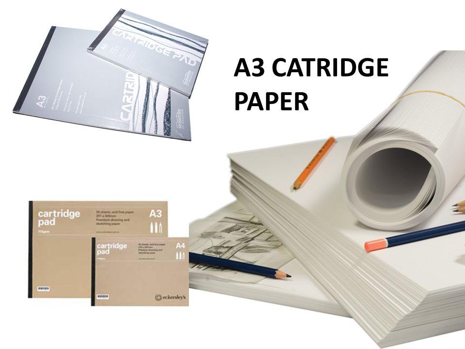 A3 CATRIDGE PAPER