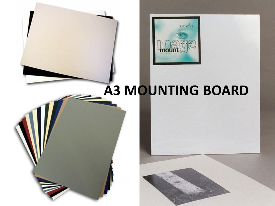A3 MOUNTING BOARD
