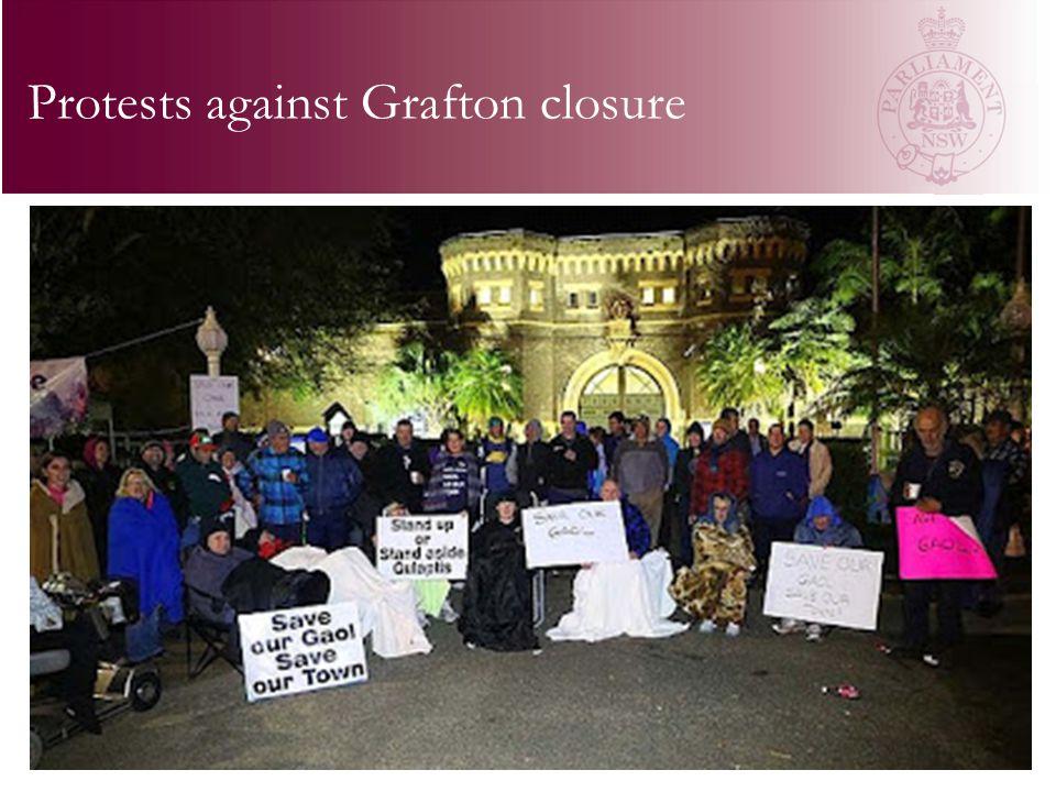 Protests against Grafton closure