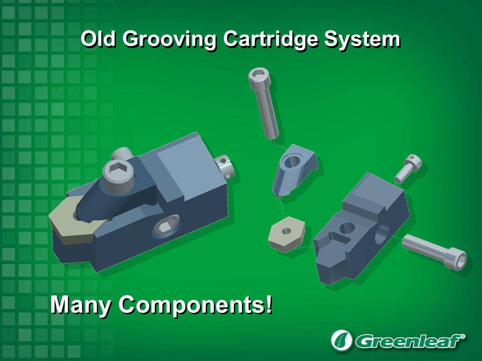 Old Grooving Cartridge System Many Components!