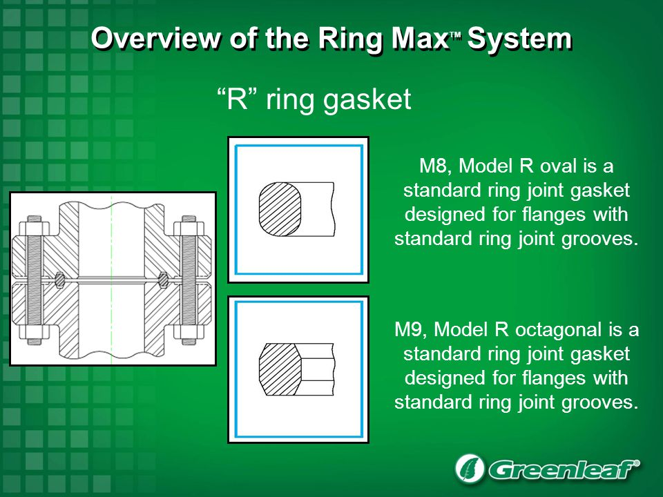 RX ring gasket M12, Model RX is a ring joint gasket for pressures up to approximately 700 bar.