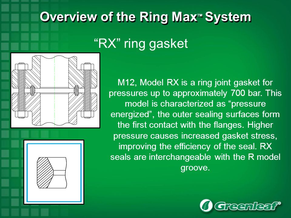 BX ring gasket M11, model BX is a ring joint gasket for very high pressures (up to 1500 bar).