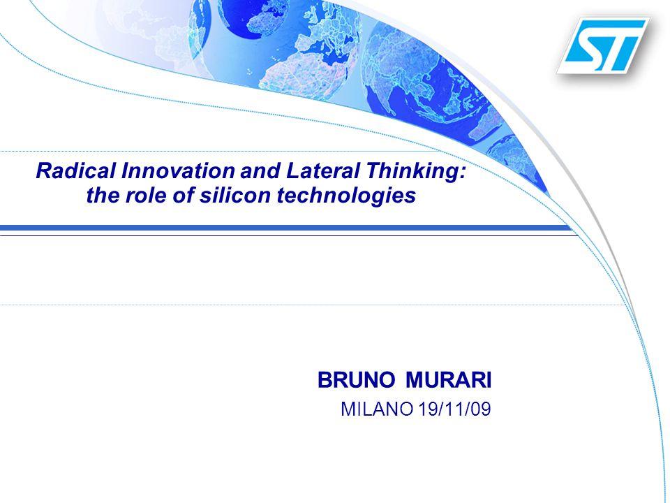 © STMicroelectronics 2009 BRUNO MURARI Lab-on-Chip12
