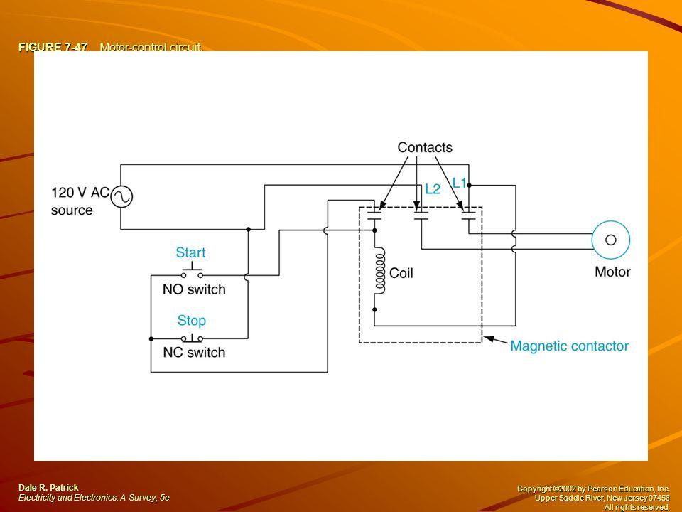 FIGURE 7-47 Motor-control circuit. Dale R.