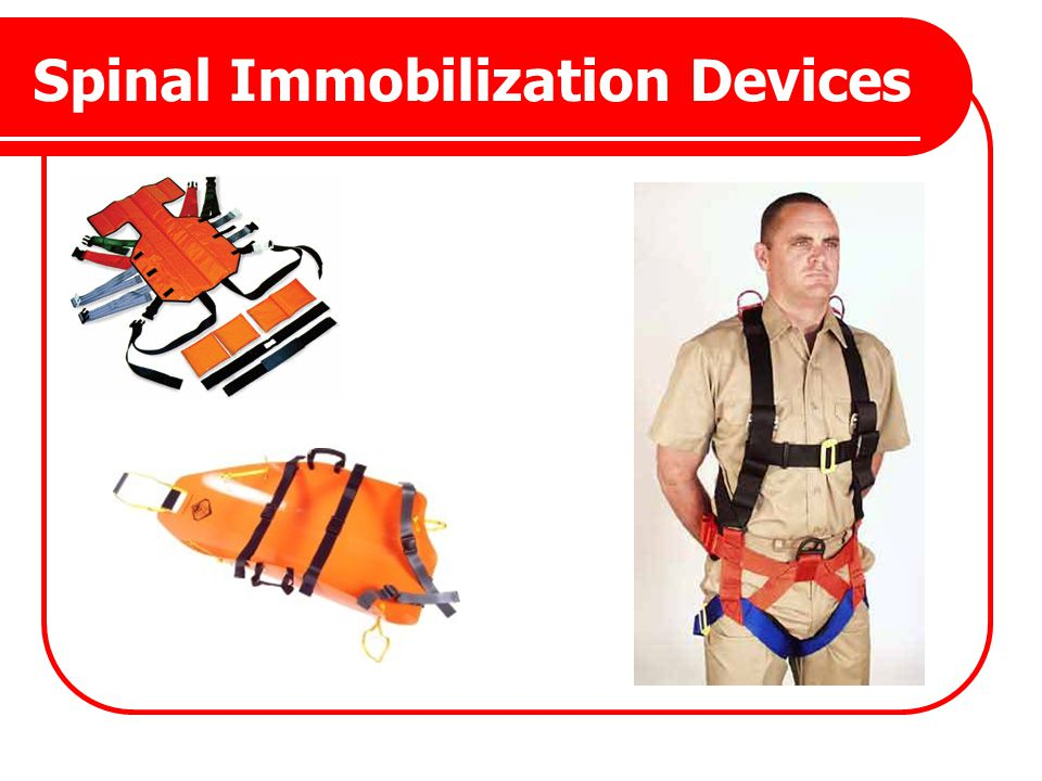 Spinal Immobilization Devices